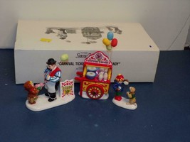 Dept 56 Snow Village Carnival Tickets and Cotton Candy #54938 - $18.13