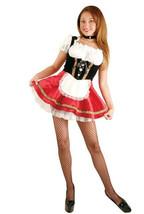 DELUXE SEXY BEER GARDEN GIRL ADULT COSTUME SIZE MEDIUM - $59.38