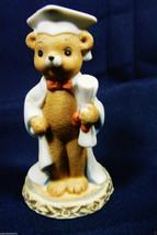 VTG 1983 Honey Bears by Geo Z Lefton Graduate Cap & Gown figurine - $11.88