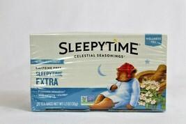 Sleepytime Extra Wellness Tea by Celestial Seasonings 20 tea bags a pack... - $25.73