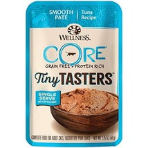 WEL WC CORE Tiny Tasters Tuna, 1.75-Ounce Pack of 12