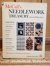 Vintage 1964 4th print McCalls Needlework Treasury A Learn & Make Book Tatting - $38.80
