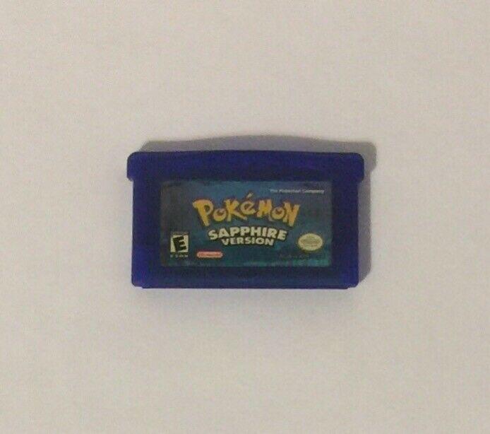 Pokemon: Sapphire Version (Nintendo Game Boy Advance, 2003)