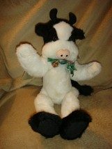 Boyds Bears Plush Hortence Moostein Cow Black And Cream 5533 - $39.99