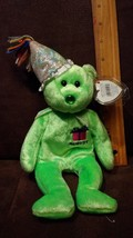 TY Birthday Beanie Baby - AUGUST the Birthday Bear - with Mint Tags-RETIRED - $3.95