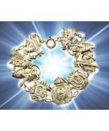 HAUNTED ANTIQUE ROYAL SHIELDS BRACELET 1000X COAT OF ARMS POWER MAGICK  ... - $95,007.77