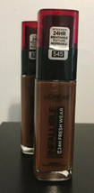 L'ORÉAL Infallible Up To 24 Hr. Fresh Wear # 545 New (2) - $14.95