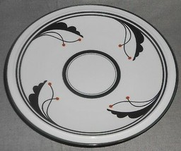 Dansk Flora BAYBERRY VARIATION? Deep Round Footed Platter MADE IN JAPAN - $29.69