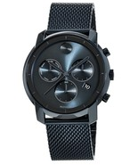 Movado Bold Chronograph Blue Ion-Plated Steel Watch 3600403 - $499.00