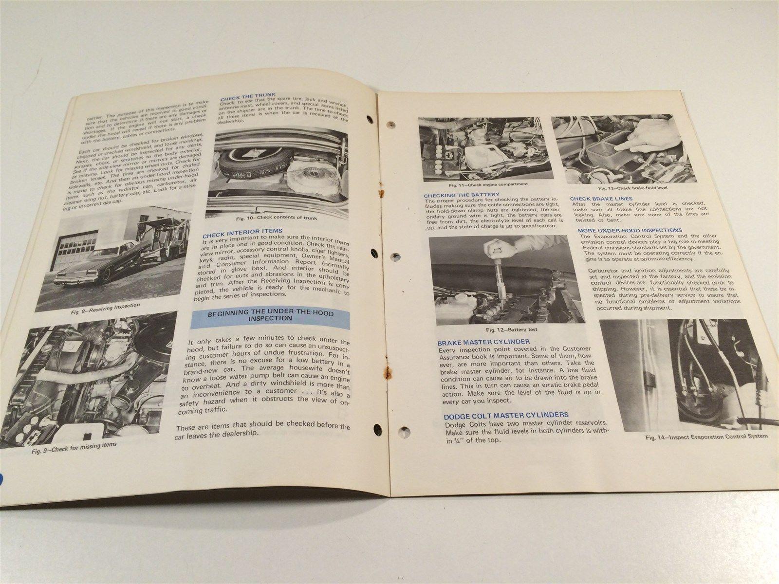 Chrysler Master Technicians Service Reference Book 758 75 8 Customer Assurance