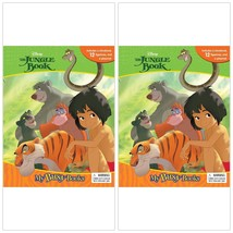 Disney The Jungle Book My Busy Story Book 12 Figurines Playmat Kids Todd... - $20.37
