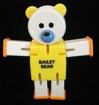 Vintage Plastic Avon Bailey Bear Convertible Toy - $8.00