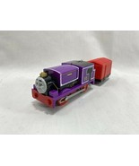 Thomas & Friends Train Engine Trackmaster Motorized Charlie Red Cargo Car Works! - $16.82