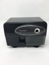 Electric Pencil Sharpener Auto-Stop Panasonic KP-310 Black With Suction ... - $20.07