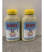 2 Bottles Beaver Tartar Sauce 11.5 oz NEW Exp 3/30/2022 - $19.78