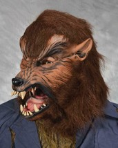 Wolf Mask Howl-O-Ween Moving Mouth Halloween Werewolf Wolfman Costume M4508 - $104.72 CAD