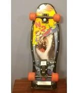 Vintage NASH Skateboard N-2 Deep 1989 Complete Vtg Skateboard Shark Attack - $58.49
