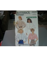 Butterick 3029 Misses Shirt Pattern - Size 18/20/22 Bust 40-44 - $8.90