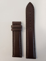 Original Tissot PRC 200 Model T014427A 20mm Brown Leather Watch Band Strap - $49.00