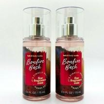 2-Pack Bath & Body Works BONFIRE BASH Fine Fragrance Mist Spray 2.5 oz T... - $17.05
