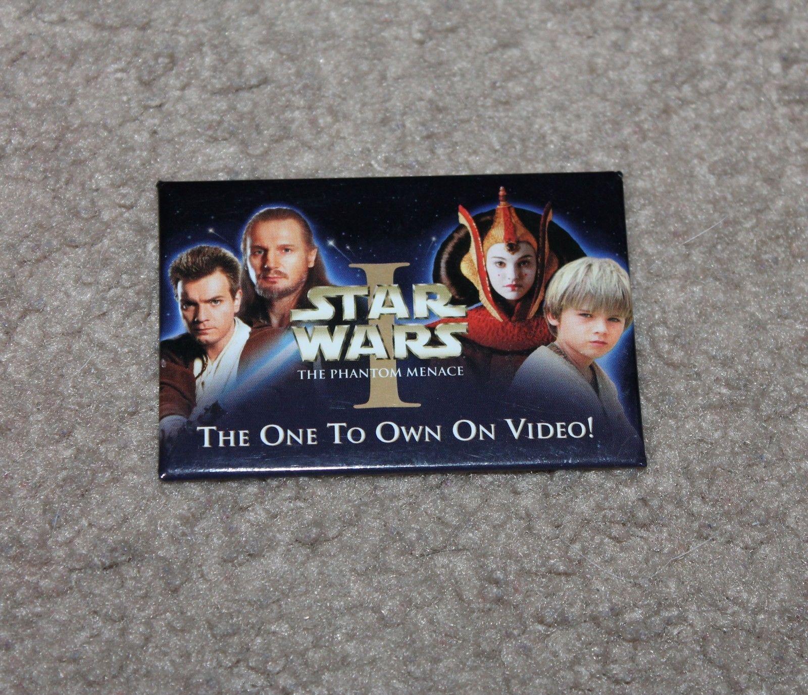 Star Wars Episode 1 The Phantom Menace Pin Badge