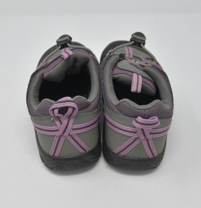 Keen Women's Sz 4 Gray Pink Bungee Strap Athletic Hiking Water Ready Trail Shoes image 2