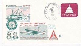 SHUTTLE COLUMBIA RETURNS TO KSC AFTER STS-3 FLIGHT WSMR, NM APR 6 1982 S... - $1.98