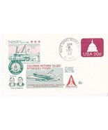 SHUTTLE COLUMBIA RETURNS TO KSC AFTER STS-3 FLIGHT WSMR, NM APR 6 1982 S... - $2.57 CAD