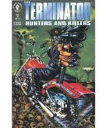 The Terminator: Hunters and Killers Comic Book #2 Dark Horse 1992 VERY FINE - $2.99