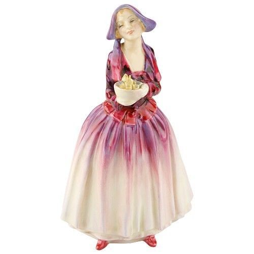 "Primary image for Royal Doulton of England ""Dorcas"" Figurine Hand-Painted Gorgeous Condition!"