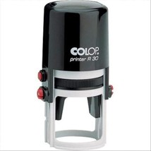 Colop Tampon Encreur Printer R30 PR.R30 Rond  - $30.58