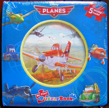 Disney Planes My First Puzzle Board Book, 5 Puzzles Inside! New and Sealed - $19.79