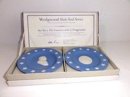 Wedgwood State Seal Series - The Commonwealth of Pennsylvania (Set 2 ear... - $59.35