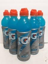 Gatorade Thirst Quencher Cool Blue 24fl Oz Sports cap Bottles-Lot of 5 - $16.03