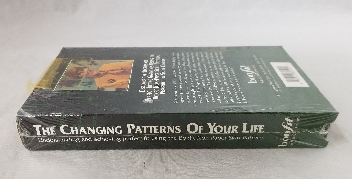 Bonfit The Changing Patterns of Your Life Skirt VHS Tape Sewing Clothes NEW