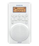 Sangean AM/FM Weather Band Emergency Waterproof Shower Clock Radio With ... - $89.54