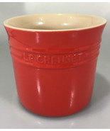 Le Creuset Red Stoneware Utensil Crock 2.75 Qt 2.3L 16-17 - $73.50