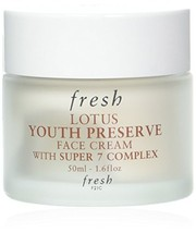 Fresh Lotus Youth Preserve Face Cream With Super 7 Complex 50ml - $59.76
