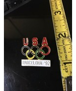 Vintage collector OLYMPIC PIN Barcelona 1992 - $7.99