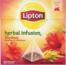 80x Lipton Tea Rooibos & Hibiscus = 80 Pyramid Tea/Infusion (4 x 20 Tea Bags) - $26.00