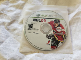 NHL 09 Video Game Microsoft Xbox 360 - GAME DISC ONLY - $5.84