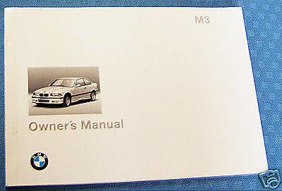 1995 bmw m3 owners manual e36 parts service and similar items rh bonanza com bmw e36 m3 owners handbook bmw e36 m3 owners manual pdf