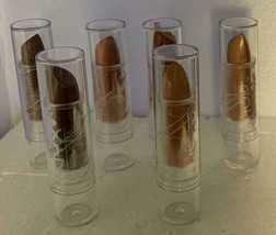 Lot of 6 NYX Lipsticks Pecan Chambord Brown Sugar Earth Angel Frosted Flakes - $14.99