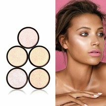 Illuminator Powder Highlighter 5Colors Brightening Face Shimmer Makeup Glow Kit - $13.04
