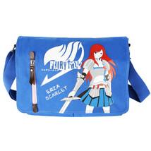 Fairy Tail Erza Scarlet Canvas Messenger Bag Shoulder Bag Anime Gifts Gi... - $18.61