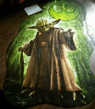 """Star Wars Yoda Wall Puzzle 72 Piece 24"""" X 36""""  Safe On Walls Movable Car... - $26.18"""
