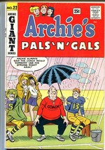 Archie's Pals 'n' Gals #22 1962-MLJ-Betty-Veronica-Giant issue-VG/FN - $55.87
