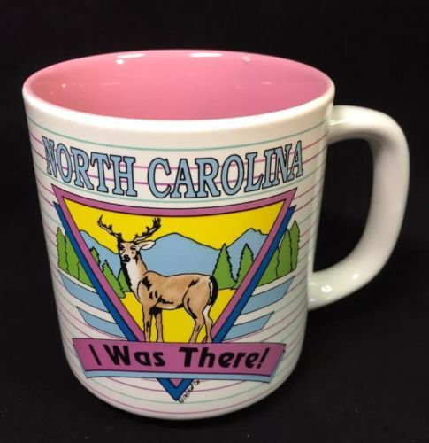 "Primary image for Vintage North Carolina ""I Was There"" Souvneer Collector Mug"