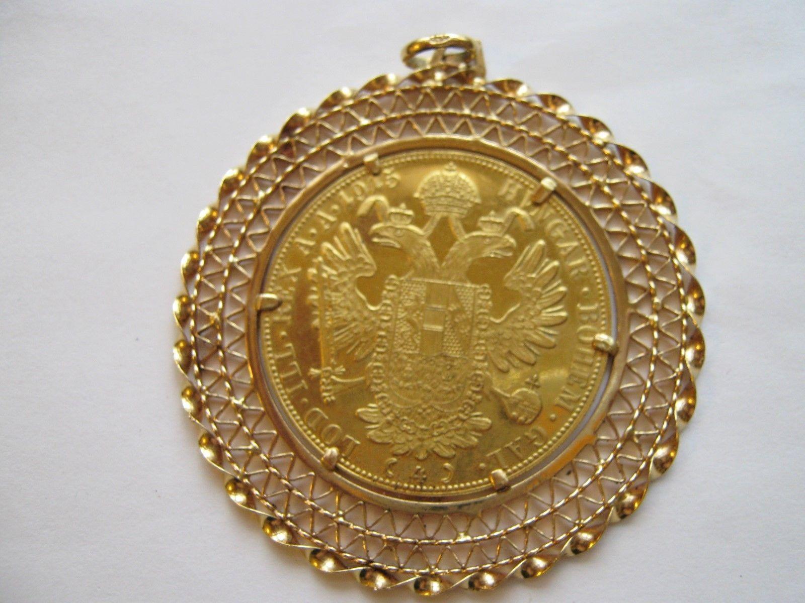 franc ios idg avstriae imperator 1915 gold