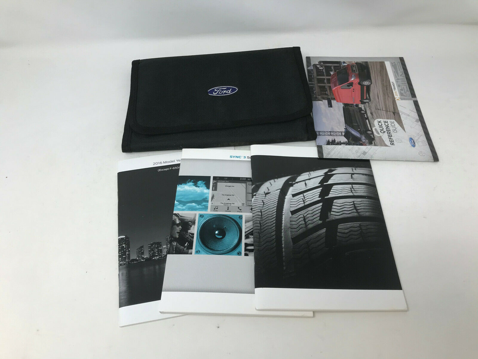 2016 Ford Transit Owners Manual Handbook with Case Set with Case OEM Z0A0701 - $27.02